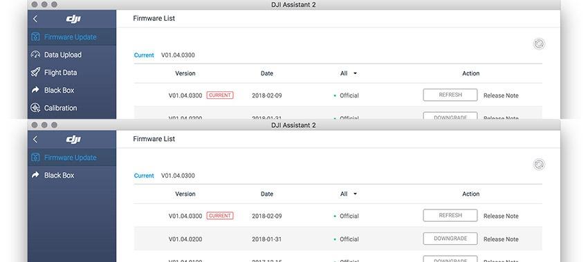 mavic pro firmware 1.04 0400