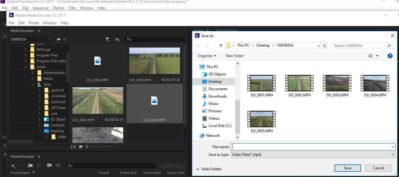 This file has no audio or video streams | DJI FORUM
