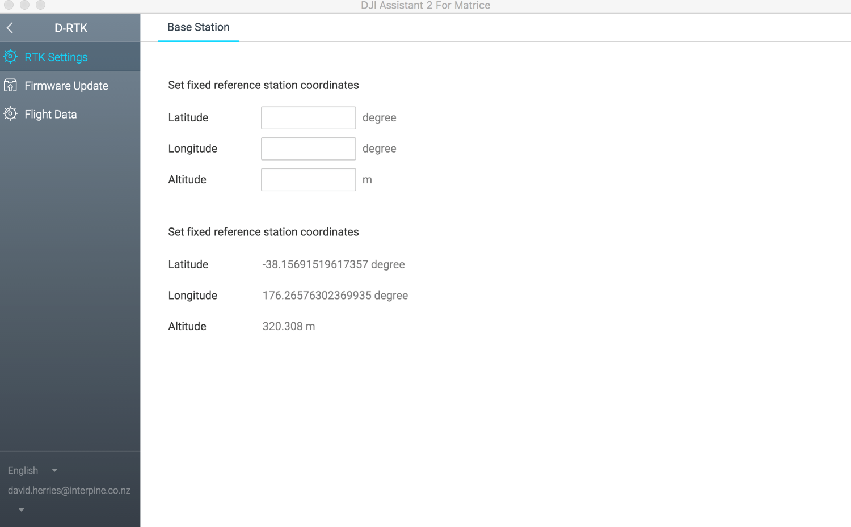Configuring RTK base with DJI Assistant 2 | DJI FORUM