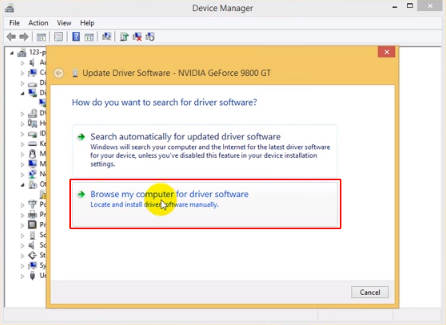 Select Browse My Computer For Driver Software And Click Go To Where The Drivers Located Sample CProgram FilesDJI ProductDJI Assistant
